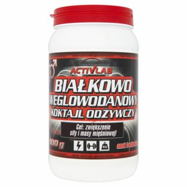 Białko Węglowodanowy koktajl odżywczy